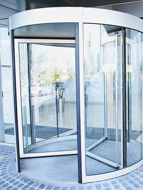 درب شیشه ای اتوماتیک چرخشی | درب اتوماتیک | کاسپین پیشرو صنعت 09123456789